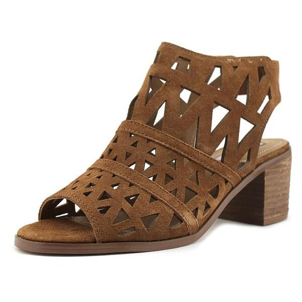 Steve Madden Estee Women Cognac Sandals