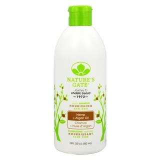 Nature's Gate Shampoo Hemp Nourishing 18-ounce|https://ak1.ostkcdn.com/images/products/is/images/direct/4973af5fda01a7c3ec1ca57b9fd9aa453248cbcd/NATURE%27S-GATE---SHAMP%2CHEMP%2CNOURISHING-18-FZ.jpg?impolicy=medium