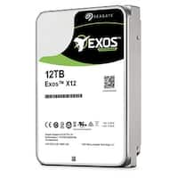 "Seagate St12000nm0007 Enterprise Capacity 3.5"" 12Tb Helium Internal Hard Drive Withsata 6 Gb/S 256Mb Buffer 7200Rpm"