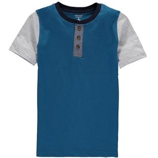French Toast Boys 8-20 Short-Sleeve Henley Tee