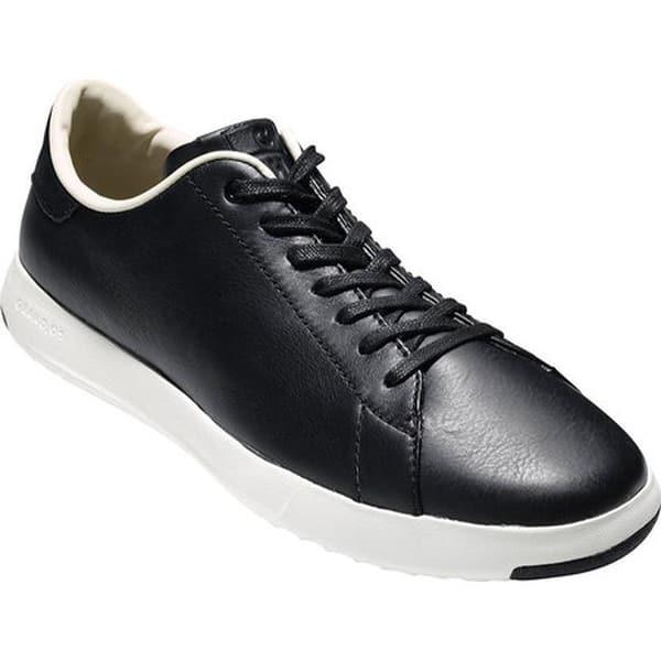new product online retailer best price Shop Cole Haan Men's GrandPro Tennis Sneaker Black Leather ...