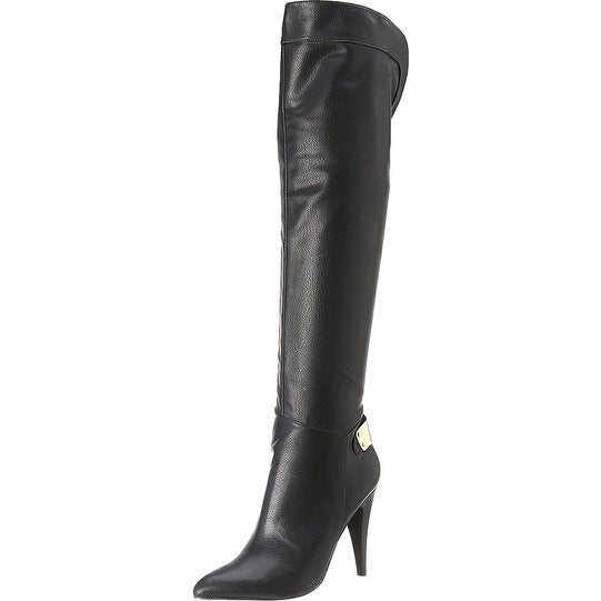 Fergie Womens Rich Pointed Toe Over Knee Fashion Boots