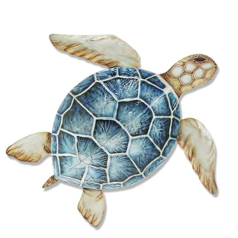 Sea Turtle Wall Decor Blue