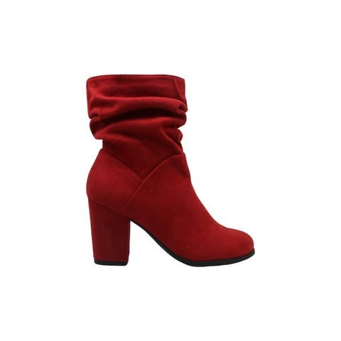 Madden Girl Womens midory Fabric Almond Toe Ankle Fashion Boots