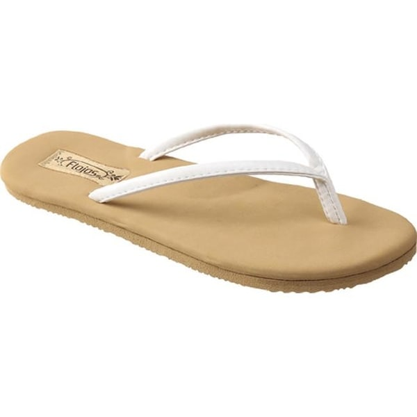 363792eb6 Shop Flojos Women s Fiesta White Tan - On Sale - Free Shipping On Orders  Over  45 - Overstock.com - 9258657