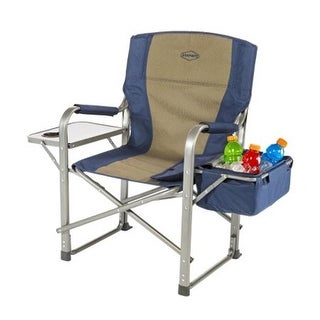 KampRite CC118 Directors Chair With Side Table And Cooler