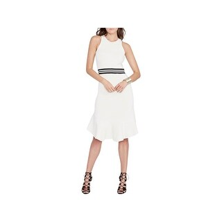 Rachel Rachel Roy Womens Wear to Work Dress Sleeveless Knee-Length