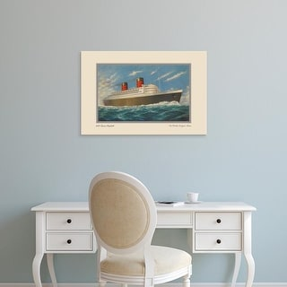 Easy Art Prints Unknown's 'Vintage Cruise II' Premium Canvas Art