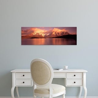 Easy Art Prints Panoramic Images's 'Torres de Paine National Park Chile' Premium Canvas Art