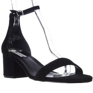 Steve Madden Irenee Heeled Ankle Strap Sandals, Black