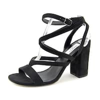 Chelsea & Zoe Womens Maris-a Open Toe Casual Strappy Sandals