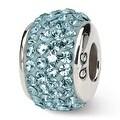 Sterling Silver Reflections December Full Swarovski Elements Bead (4mm Diameter Hole) - Thumbnail 0