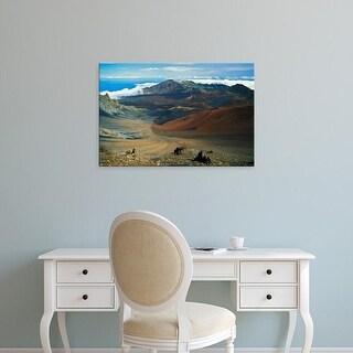 Easy Art Prints Adam Jones's 'Cinder Cone Crater' Premium Canvas Art