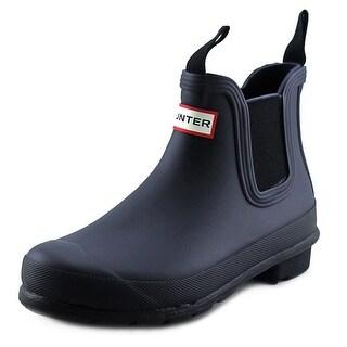 Hunter W's Original Chelsea Round Toe Synthetic Rain Boot