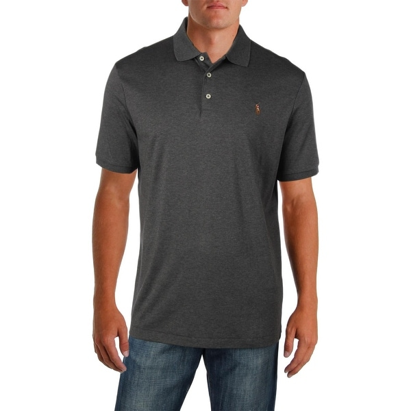 ea323656bd Shop Polo Ralph Lauren Mens Polo Shirt Classic Fit Soft Touch - L - Free  Shipping Today - Overstock - 23142136