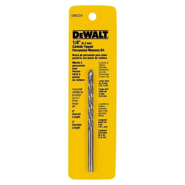 DeWalt 1/4X4 Masonry Drill Bit