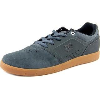 DC Shoes Cole Signature Round Toe Suede Skate Shoe