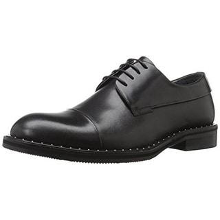 Zanzara Mens Beckett Oxfords Leather Toe Cap