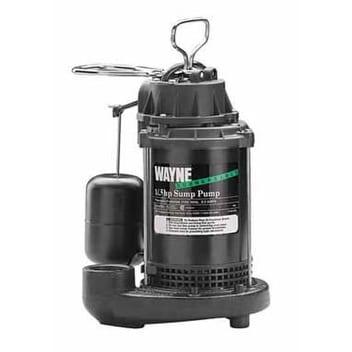 Wayne CDU790 Submersible Sump Pump, 1/3Hp
