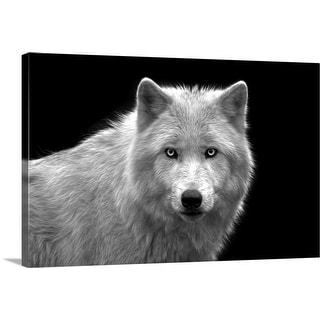 """The Stare"" Canvas Wall Art"