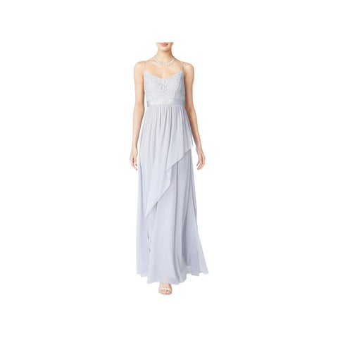 Adrianna Papell Womens Evening Dress Full-Length Embellished