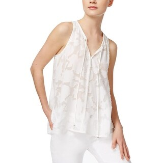 Rachel Rachel Roy Womens Gypsy Casual Top Chiffon Hi-Low