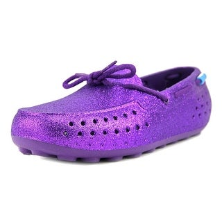 People Footwear The Senna Youth Moc Toe Synthetic Purple Loafer