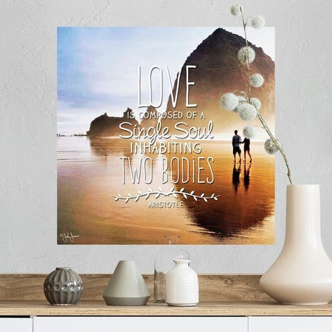 """""""Love Is"""" Poster Print"""