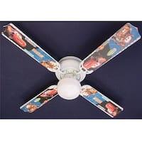 Cars Characters 42in Ceiling Fan Light Kit - Multi