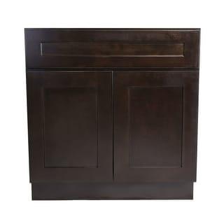 """Design House 562074 Brookings 33"""" Double Door Sink Base Cabinet"""