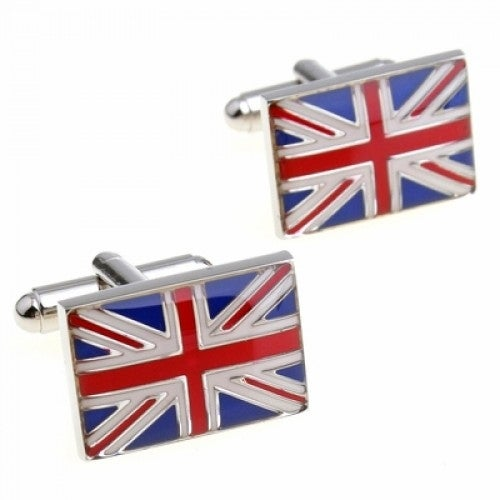 Union Jack England United Kingdom Great Britian Flag Cufflinks