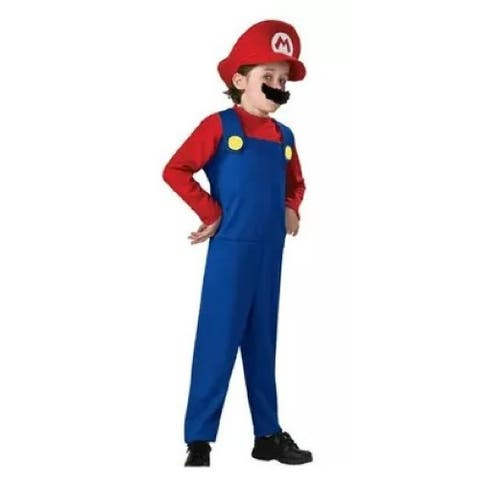 Wenchoice Red Blue Super Mario Halloween Costume Boys