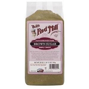 Bob's Red Mill Dark Brown Sugar - 28 oz - Case of 4