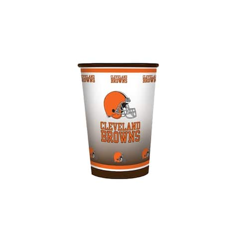 Nfl cup cleveland browns 2-pack (20 ounce)-nla