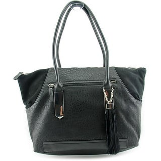 French Connection Camden Tote Synthetic Tote - Black