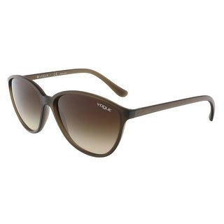 Vogue VO2940S 228013 Transparent Light Brown Butterfly sunglasses - transparent light brown - 58-15-140