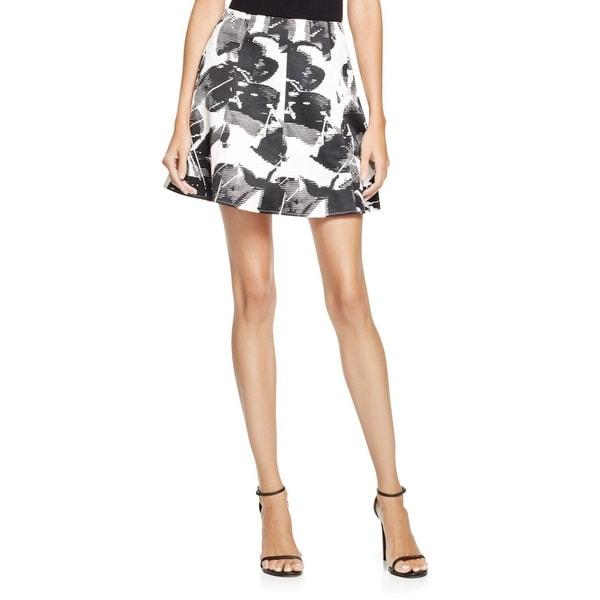 Lucy Paris Womens A-Line Skirt Printed Mini