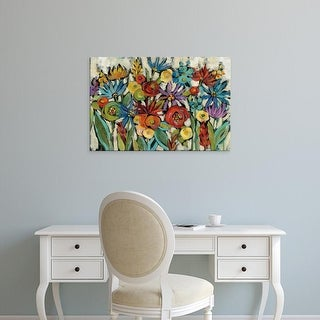Easy Art Prints Silvia Vassileva's 'Confetti Floral I' Premium Canvas Art