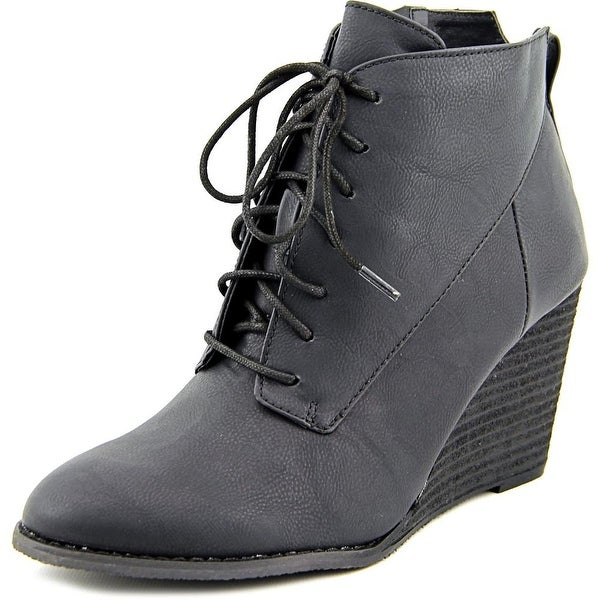 Diba Tucker Bootie Women Round Toe Synthetic Bootie
