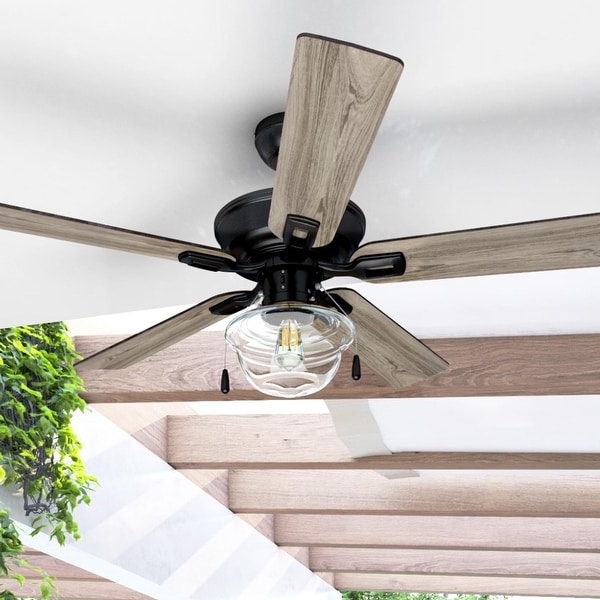 Copper Grove Strang Indoor/ Outdoor Ceiling Fan - 52-inch. Opens flyout.