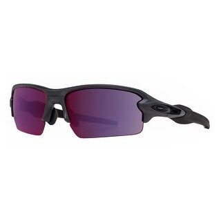 Oakley Flak 2.0 OO9271-15 Steel Grey Prizm Road Asian Fit Sport Sunglasses - 61mm-12mm-133mm