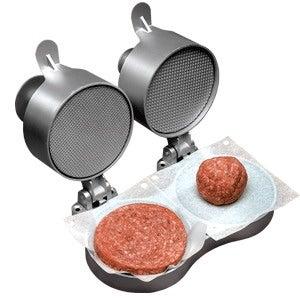 Weston 07-0701 Prago Double Hamburger Press