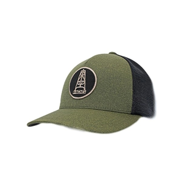 more photos 16d0d 6f2e9 ... sale hooey hat mens trucker oil money snapback one size olive black  ce83c a8b46