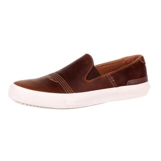 Durango Casual Shoes Mens Leather Canvas Chocolate Wheat DDB0114