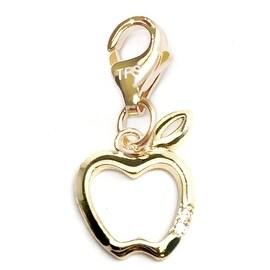 Julieta Jewelry Apple Outline Clip-On Charm