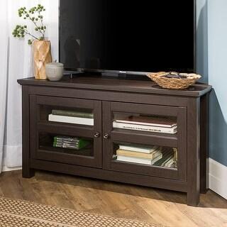Copper Grove Bow Valley 44-inch Espresso Corner TV Stand