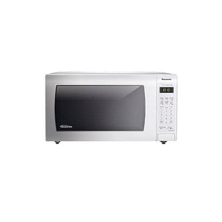 Panasonic NN-SN736W 1.6 Cu. Ft. 1250W Genius Sensor Countertop Microwave Oven with Inverter Technolo - White