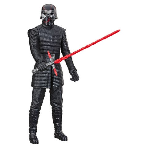 Star Wars Hero Series Star Wars: The Rise Of Skywalker Supreme Leader Kylo Ren Toy 12-Inch Scale Figure, Ages 4 And Up