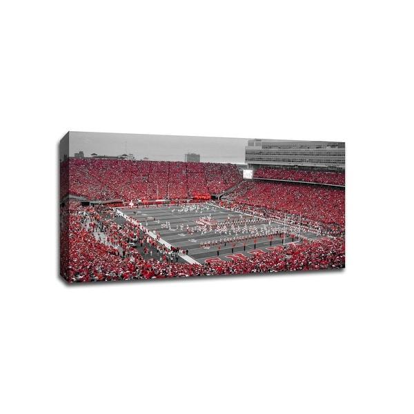 Nebraska - CollegeFootball - 40x22 Gallery Wrapped Canvas Wall Art ToC