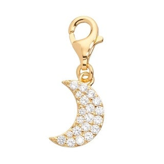 Julieta Jewelry Moon CZ Clip-On Charm
